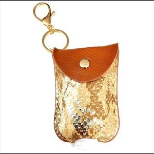Mini hand sanitizer holder/key chain 👏😷🧼